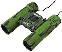 Бинокль Bushnell 2675-1 10х25 с чехлом Green