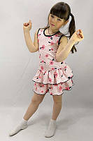 """Летний детский сарафан с люрексом для девочки """"Летнее настроение"""""""
