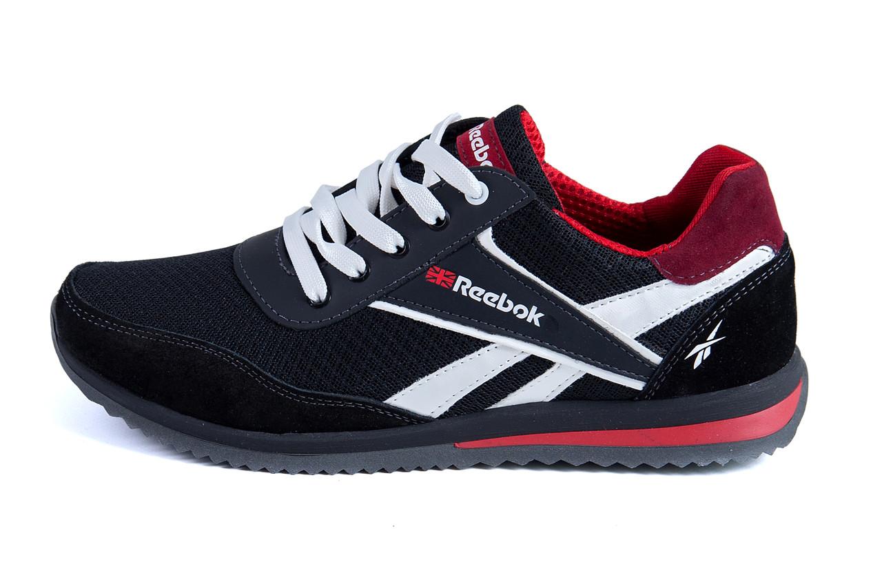Чоловічі кросівки літні сітка Reebok (;)