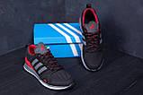 Чоловічі кросівки літні сітка Adidas Summer Red, фото 7