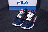 Мужские летние кроссовки сетка FILA, фото 7