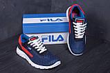 Мужские летние кроссовки сетка FILA, фото 8