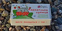 Мыло ручной работы на кокосовых сливках «комплексное восстановление» - Карпатская земляника