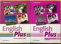 Учебники Oxford English Plus starter S B+ WB (нові оригінальні)