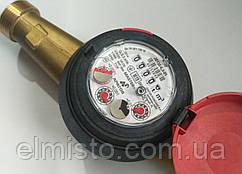"""Водомеры Apator Powogaz JS-130-6,3 ГВ (ДУ-25) 1,0"""" на горячую воду крыльчатые сухоходы для домов"""