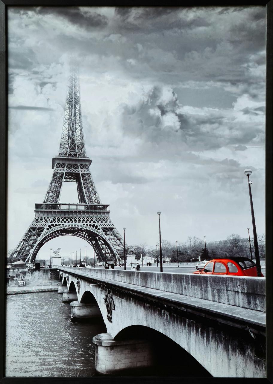"""Фотокартина в деревянной раме """"Paris 1"""", 70х100 см"""