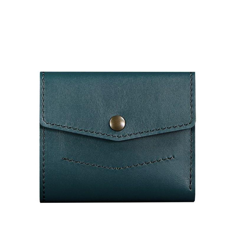 Женский кожаный кошелек 2.1 зеленый