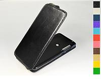 Откидной чехол из натуральной кожи для Samsung Galaxy A9 2018 A920 / A9 Star Pro / A9s