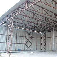 Строительство навесов, складов, ангаров в Чернигове