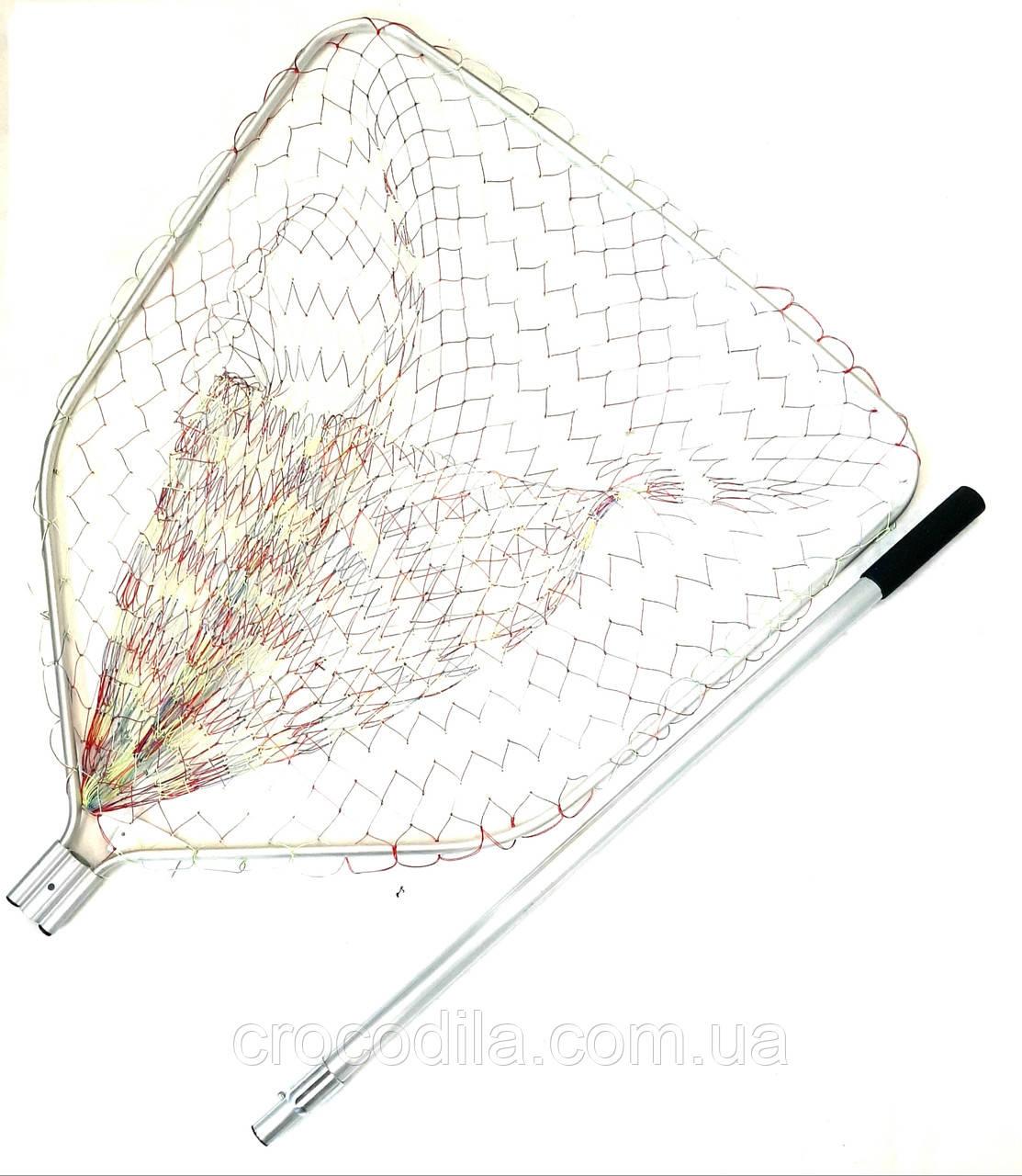 Подсак карповый Shark с кордовой сеткой 81*87 см голова