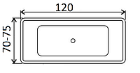Ванни прямокутні Koller pool 120х70, 120х75