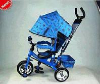 Детский трехколесный велосипед M 0448, Profi Trike Stroller