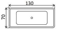 Ванни прямокутні Koller Pool 130х70