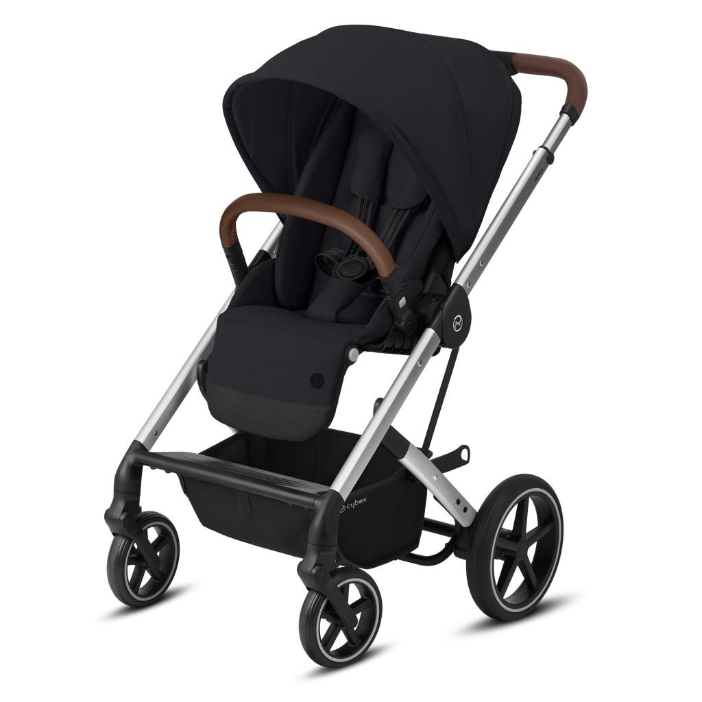 Прогулочная коляска Cybex Balios S Lux SLV (Soho Grey)