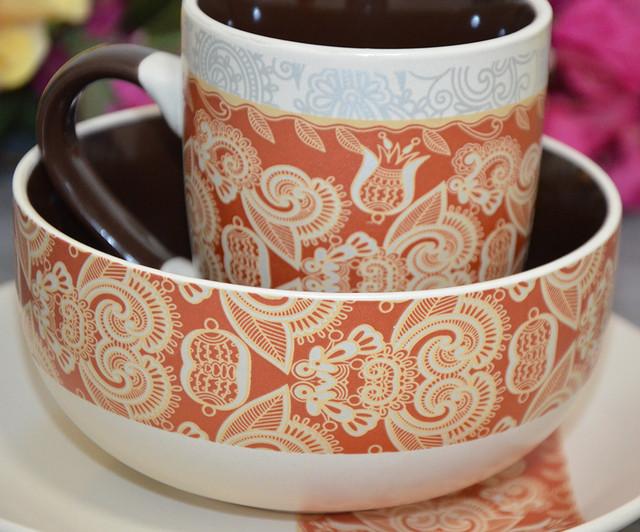 """Набор посуды для завтрака """"Ornament"""" (фото)"""