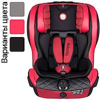 Детское автокресло для ребёнка Lionelo JASPER ISOFIX RED от 9 до 36 кг красное для детей, фото 1