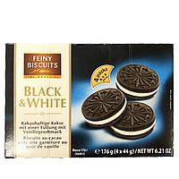 Печиво Feiny Biscuits Black & White 176 г (4х4)