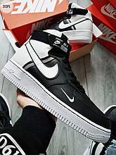 ДЕМИСЕЗОН! Мужские кроссовки Nike Air Force 1 Hight LV8 black/white