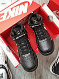 ДЕМИСЕЗОН! Мужские кроссовки Nike Air Force Hight Black/White, фото 2