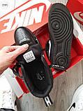 ДЕМИСЕЗОН! Мужские кроссовки Nike Air Force Hight Black/White, фото 4