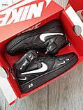 ДЕМИСЕЗОН! Мужские кроссовки Nike Air Force Hight Black/White, фото 5