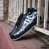 ДЕМИСЕЗОН! Мужские кроссовки Nike Air Force Skeleton QS Black, фото 9
