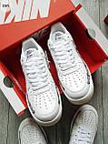 ДЕМИСЕЗОН! Мужские кроссовки Nike Air Force Skeleton QS White, фото 2