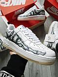 ДЕМИСЕЗОН! Мужские кроссовки Nike Air Force Skeleton QS White, фото 5