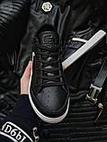 Мужская фирменная обувь Lacoste Black/White, фото 2