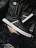 Мужская фирменная обувь Lacoste Black/White, фото 5