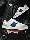 Мужская фирменная обувь Lacoste White, фото 5