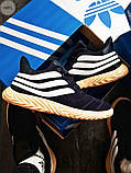 Мужские зимние кроссовки Adidas Sobakov Winter Dark Blue, фото 4