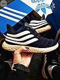 Мужские зимние кроссовки Adidas Sobakov Winter Dark Blue, фото 7
