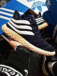 Мужские зимние кроссовки Adidas Sobakov Winter Dark Blue, фото 8
