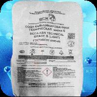 Сода кальцинированная техническая в мешках по 25 кг, фото 1