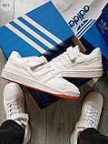 Мужские кроссовки Adidas forum mіd White, фото 5