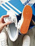Мужские кроссовки Adidas forum mіd White, фото 6