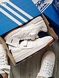 Мужские кроссовки Adidas forum mіd White, фото 8