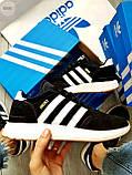Мужские кроссовки Adidas iniki / black, фото 3