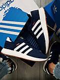 Мужские кроссовки Adidas iniki blue, фото 2