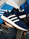 Мужские кроссовки Adidas iniki blue, фото 5
