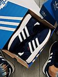 Мужские кроссовки Adidas iniki blue, фото 7