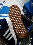 Мужские кроссовки Adidas iniki blue, фото 8