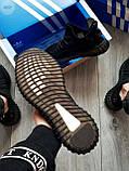 Мужские кроссовки Adidas Yeezy Boost 350 V2 Black, фото 7