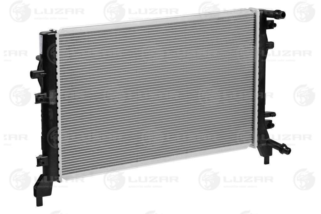 Радиатор охлаждения GOLF(03-)/OCTAVIA (04-) (LRc 18BN) Luzar 1K0121251BN