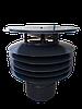 Дефлектор №9 D-150 мм чорний