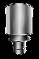 Дефлектор №8 D-150 мм сірий