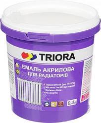 Емаль для радіаторів акрилова ТРІОРА, 0,4кг