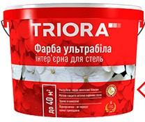 Фарба ультрабіла 10л ТРІОРА