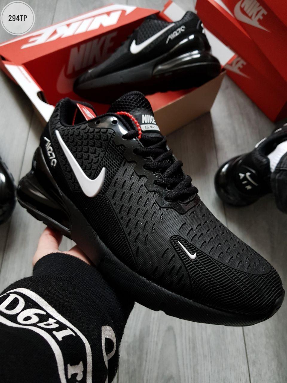Мужские кроссовки Air Max  270 Flair Black/White